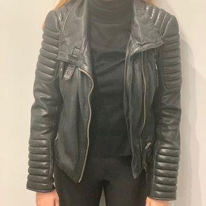 Like new all saints leather jacket